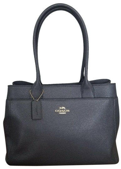 Preload https://img-static.tradesy.com/item/25814337/coach-casey-f31474-midnight-blue-leather-tote-0-1-540-540.jpg
