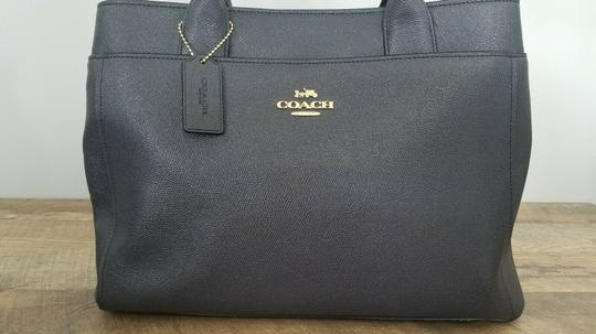 Coach Navy Casey F31474 Tote in Midnight Blue Image 1