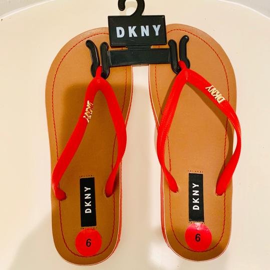 DKNY red Sandals Image 2