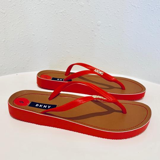 DKNY red Sandals Image 3