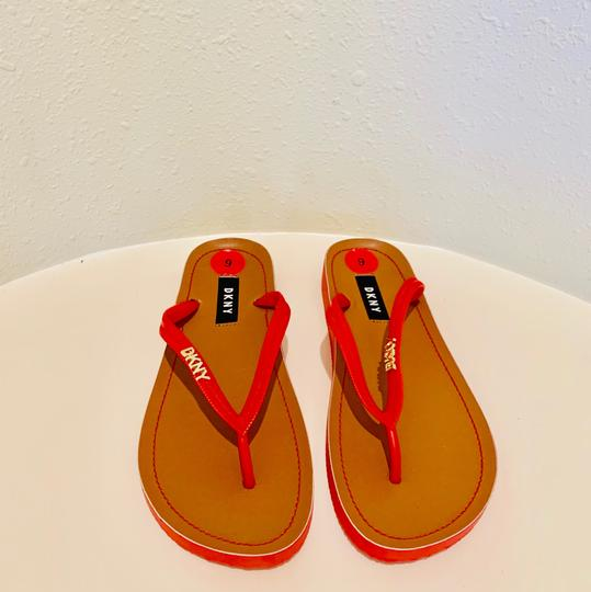 DKNY red Sandals Image 4
