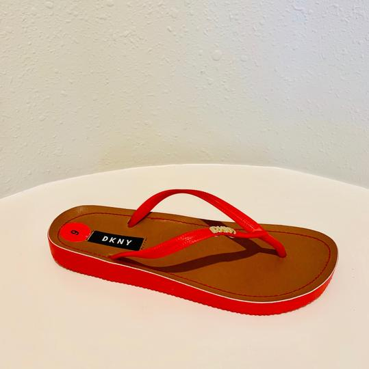 DKNY red Sandals Image 5