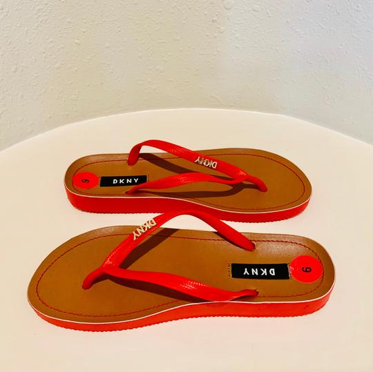 DKNY red Sandals Image 6