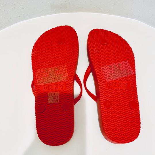 DKNY red Sandals Image 7