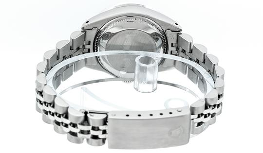 Rolex Ladies Datejust Stainless Steel with Diamond Dial Watch Image 6