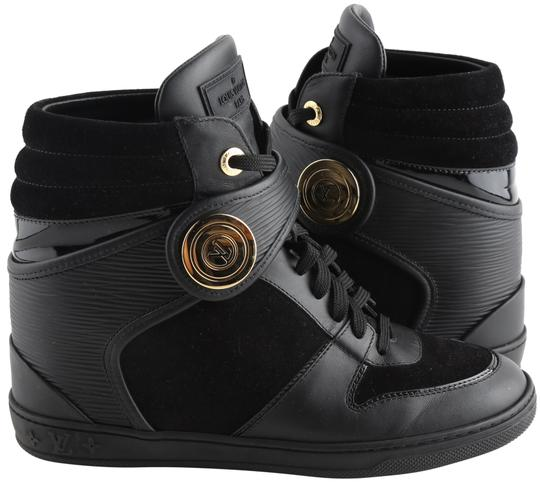 Preload https://img-static.tradesy.com/item/25814455/louis-vuitton-black-epi-leather-and-suede-high-top-wedge-sneakers-size-us-75-regular-m-b-0-1-540-540.jpg