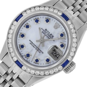Rolex Ladies Datejust Stainless Steel with Sapphire Dial Watch