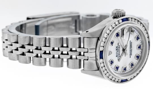 Rolex Ladies Datejust Stainless Steel with Sapphire Dial Watch Image 1