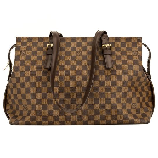 Preload https://img-static.tradesy.com/item/25814468/louis-vuitton-chelsea-damier-ebene-4123005-brown-shoulder-bag-0-0-540-540.jpg
