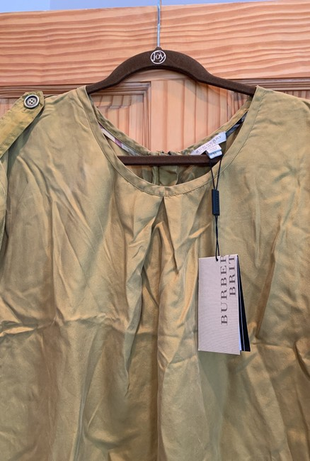 Burberry Brit Top Gold/mustard Image 4