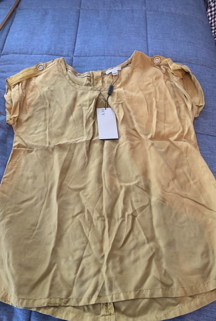 Burberry Brit Top Gold/mustard Image 5