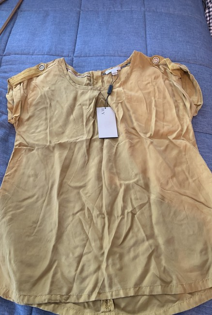 Burberry Brit Top Gold/mustard Image 6