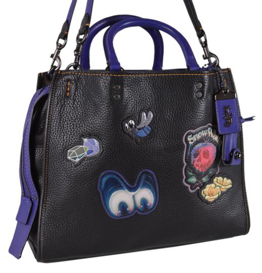 Preload https://img-static.tradesy.com/item/25814494/coach-new-disney-x-dark-fairy-tale-snow-white-purse-black-leather-tote-0-0-540-540.jpg