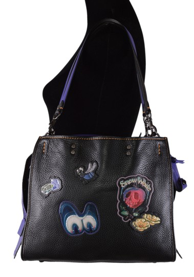Coach Disney Disney X Snow White Handbag Tote in Black Image 2