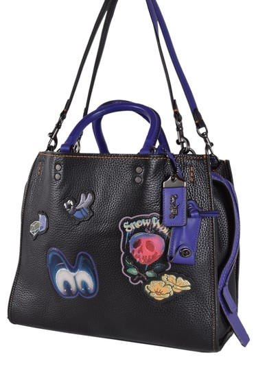 Coach Disney Disney X Snow White Handbag Tote in Black Image 7
