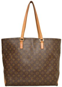 Louis Vuitton Tote Cabas Alto Carry On Shoulder Bag