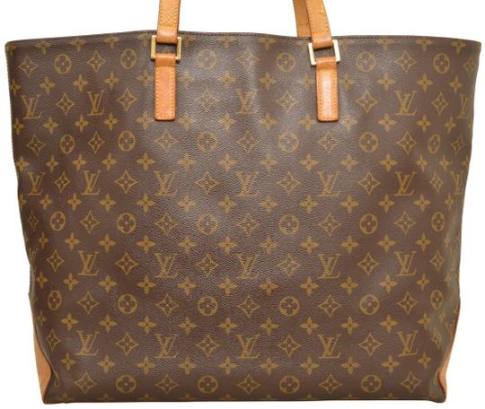 Louis Vuitton Tote Cabas Alto Carry On Shoulder Bag Image 2