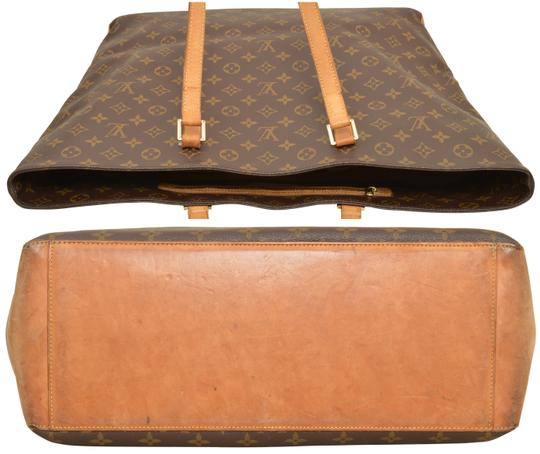 Louis Vuitton Tote Cabas Alto Carry On Shoulder Bag Image 5