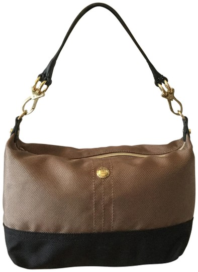 Preload https://img-static.tradesy.com/item/25814536/brown-and-black-nylon-shoulder-bag-0-1-540-540.jpg