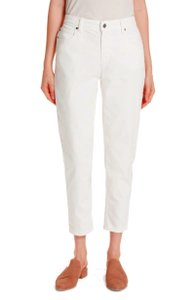 Eileen Fisher Organic Cotton Slight Stretch Five Pocket Flare Leg Jeans
