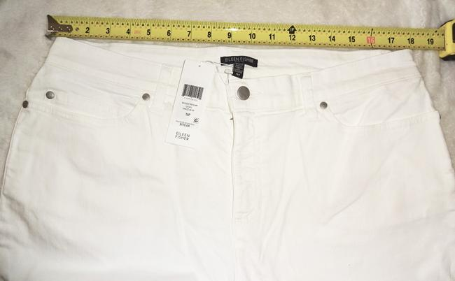 Eileen Fisher Organic Cotton Slight Stretch Five Pocket Flare Leg Jeans Image 5
