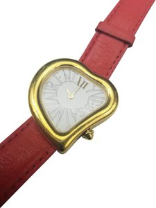 Saint Laurent Red Heart Watch