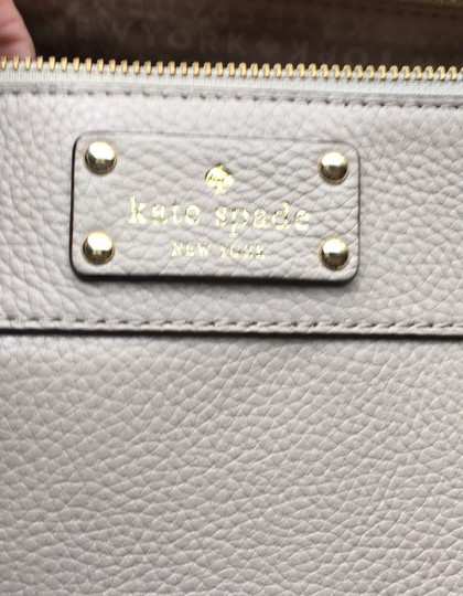 Kate Spade Satchel in Grey Image 6