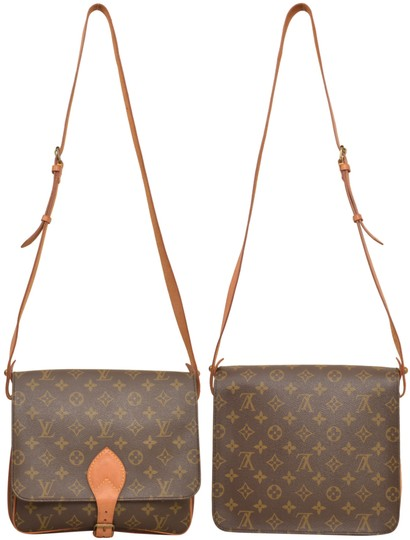 Louis Vuitton Monogram Shoulder Cartouchiere Mm Cross Body Bag Image 1