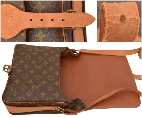 Louis Vuitton Monogram Shoulder Cartouchiere Mm Cross Body Bag Image 10