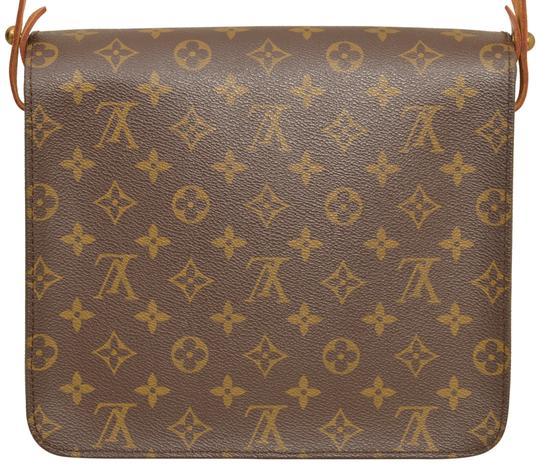 Louis Vuitton Monogram Shoulder Cartouchiere Mm Cross Body Bag Image 2