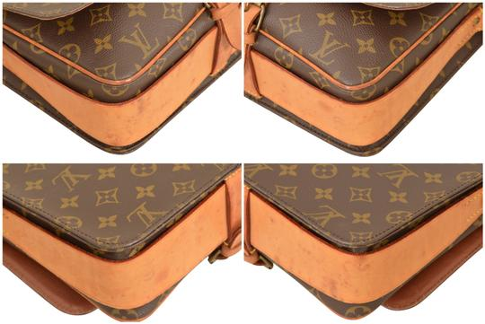 Louis Vuitton Monogram Shoulder Cartouchiere Mm Cross Body Bag Image 6