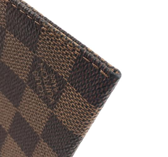 Louis Vuitton Pochette Zippy Flat Damier Ebene Clutch Image 7