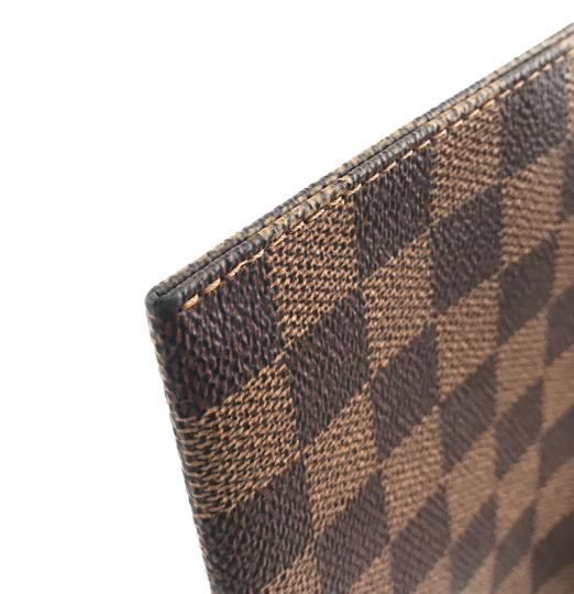 Louis Vuitton Pochette Zippy Flat Damier Ebene Clutch Image 8