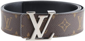 Louis Vuitton Louis Vuitton LV Initiales 40MM Reversible Monogram Massacar Belt