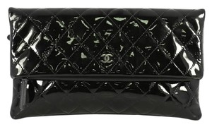 Chanel Beauty Patent black Clutch