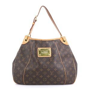 Louis Vuitton Galliera Monogram Canvas Satchel in brown