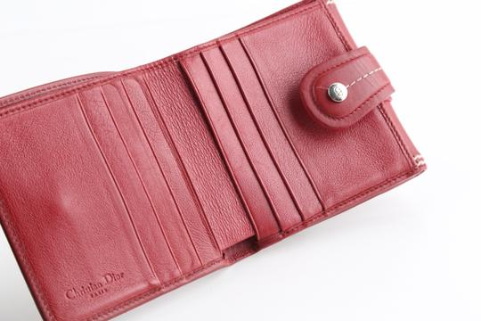 Dior Christian Dior D Charm Trifold Wallet Image 10