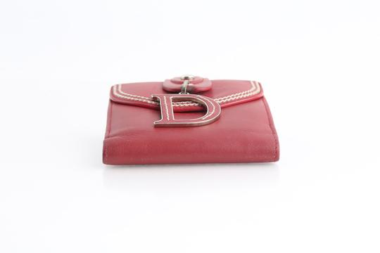 Dior Christian Dior D Charm Trifold Wallet Image 5
