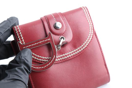 Dior Christian Dior D Charm Trifold Wallet Image 6