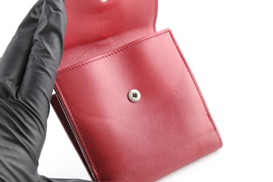 Dior Christian Dior D Charm Trifold Wallet Image 8