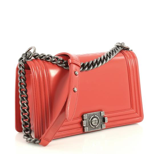 Chanel Reverso Flap Calfskin Shoulder Bag Image 1