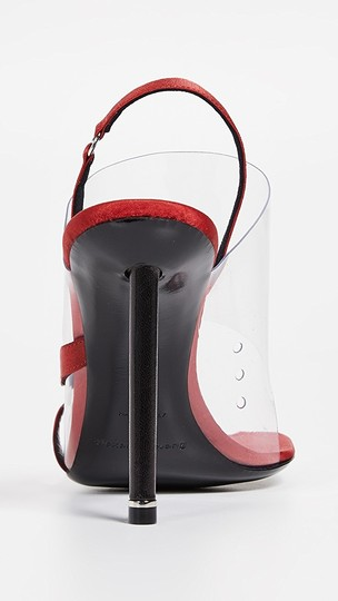 alexander wang red Sandals Image 3