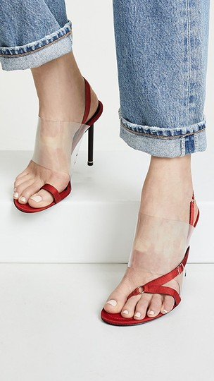 alexander wang red Sandals Image 4