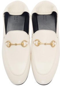 Gucci Loafers Slippers ivory white off Flats