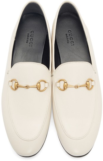 Gucci Loafers Slippers ivory white off Flats Image 1