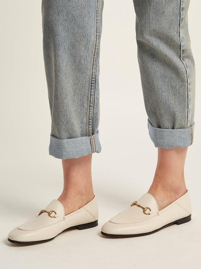 Gucci Loafers Slippers ivory white off Flats Image 3