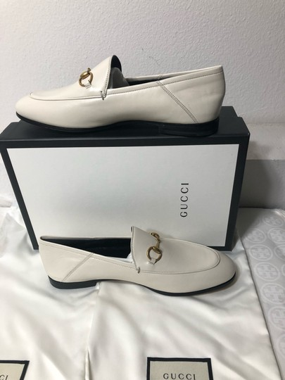 Gucci Loafers Slippers ivory white off Flats Image 5