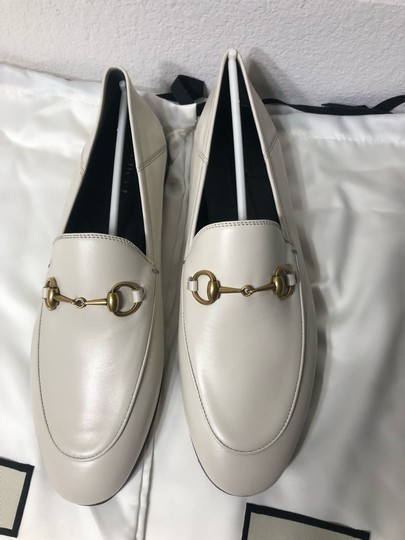 Gucci Loafers Slippers ivory white off Flats Image 6