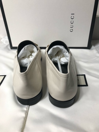Gucci Loafers Slippers ivory white off Flats Image 7