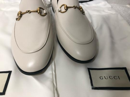 Gucci Loafers Slippers ivory white off Flats Image 8
